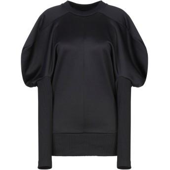 《期間限定セール開催中!》MARQUES' ALMEIDA レディース スウェットシャツ ブラック S コットン 55% / ナイロン 45%