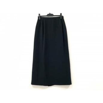 【中古】 レリアン Leilian スカート サイズ11 M レディース 黒