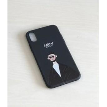 iPhone X / Xs 映画LON 携帯ケース スマホカバー TPU ブラック レオン