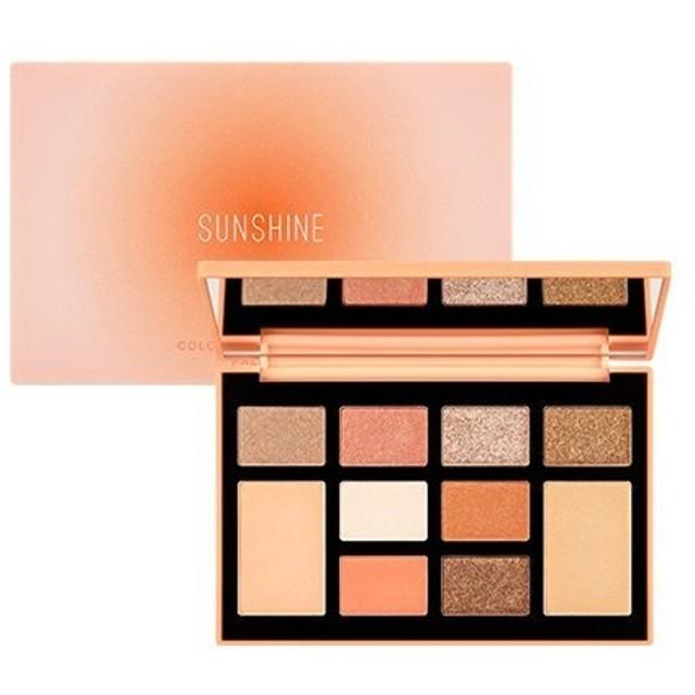 MISSHA Color Filter Shadow Palette [No.3 Sunshine Filter] / ミシャ カラーフィルターシャドウパレット [No.3 Sunshine Filt