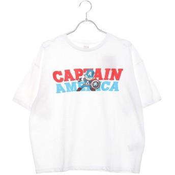 マーベル MARVEL レディース 半袖Tシャツ MV-9C22509TSCA