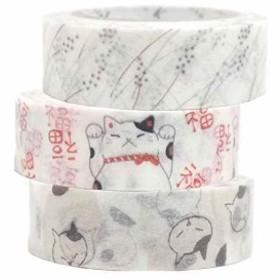 マスキングテープ Shinzi Katoh いろは和紙テープ 3巻セットK[ks-wt-20011]