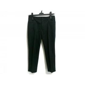 【中古】 ニジュウサンク 23区 パンツ サイズ32 XS レディース 黒