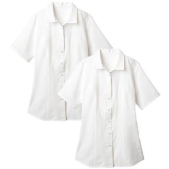 2枚組半袖ハマカラーシャツ