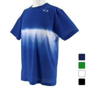 オークリー OAKLEY メンズ テニス 半袖Tシャツ Enhance Slant Graphic Tee 9.0 457853JP