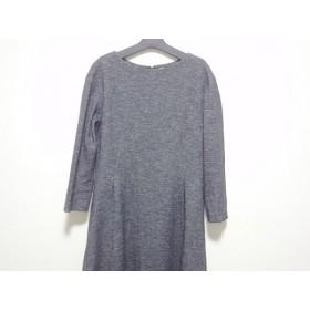 【中古】 イエナ IENA ワンピース サイズ38 M レディース 黒 白