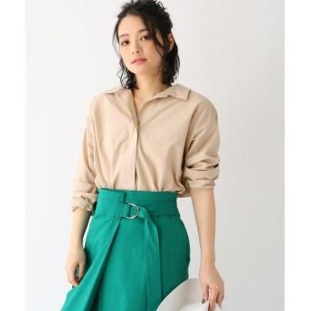 aquagirl / アクアガール 抜き襟オーバーサイズシャツ