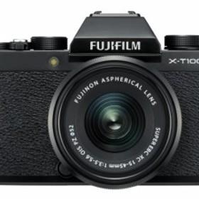富士フイルム デジタル一眼カメラ FUJIFILM X-T100 レンズキット [ブラック]
