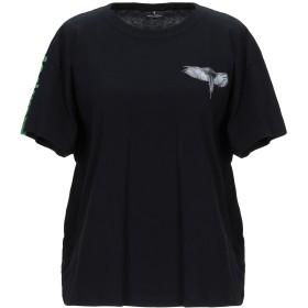 《期間限定セール開催中!》MARCELO BURLON レディース T シャツ ブラック XXS コットン 100%