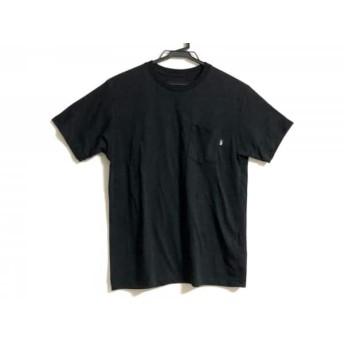 【中古】 ノースフェイス THE NORTH FACE 半袖Tシャツ サイズS メンズ 黒