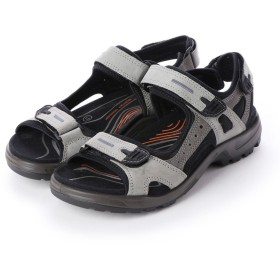 エコー ECCO Mens OFFROAD Sandal (WILD DOVE/DARK SHADOW)