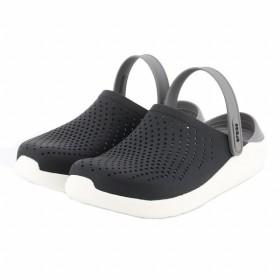 クロックス 正規品 【2019年モデル】 ライトライド クロッグ ブラック×グレー クロッグサンダル メンズ literide clog crocs