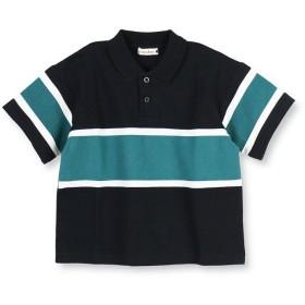 【50%OFF】 ブランシェス 切り替えデザインポロシャツ(90~150cm) レディース ブラック 110cm 【branshes】 【セール開催中】