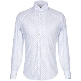 《期間限定 セール開催中》BESILENT メンズ シャツ アジュールブルー S コットン 65% / ナイロン 32% / ポリウレタン 3%