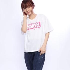 マーベル MARVEL レディース 半袖Tシャツ MV-9C22529TS