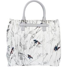 《セール開催中》DOLCE & GABBANA レディース ハンドバッグ グレー 紡績繊維 / 革