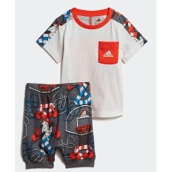 I グラフィック Tシャツ&ロークロッチパンツ 上下セット