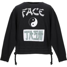 《送料無料》FACETASM メンズ スウェットシャツ ブラック 00 コットン 100%