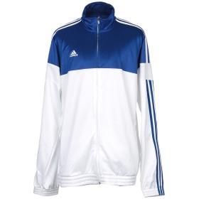 《期間限定 セール開催中》ADIDAS メンズ スウェットシャツ ブルー XXL ポリエステル 100%