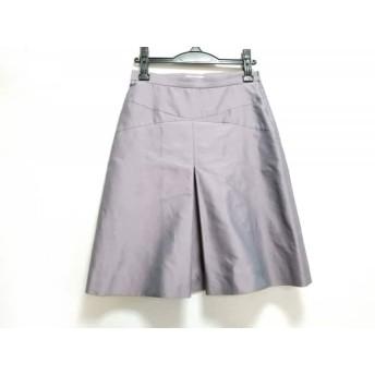 【中古】 モスキーノ チープ&シック MOSCHINO CHEAP & CHIC スカート サイズ42I レディース パープルグレー