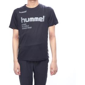 ヒュンメル hummel サッカー/フットサル 半袖シャツ プラクティスTシャツ HAP4129
