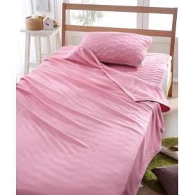 ひんやりとろみが気持ちいいレーヨン100%タオル地 敷パッドセット 敷きパッド・ベッドパッド