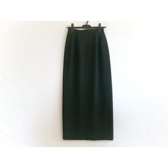 【中古】 スペッチオ SPECCHIO ロングスカート サイズ40 M レディース 美品 黒