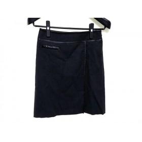 【中古】 ニジュウサンク 23区 スカート サイズ36 S レディース ダークグレー