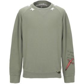 《セール開催中》REPLAY メンズ スウェットシャツ ミリタリーグリーン M コットン 100%