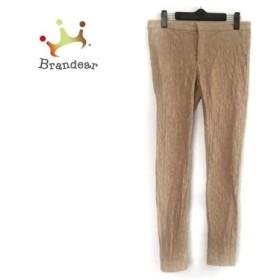 ビアズリー BEARDSLEY パンツ サイズ1 S レディース ライトブラウン 刺繍     スペシャル特価 20190806