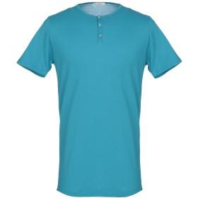 《期間限定セール開催中!》BELLWOOD メンズ T シャツ アジュールブルー 54 コットン 94% / ポリウレタン 6%