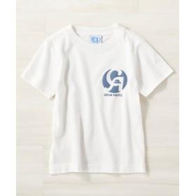 OCEAN PACIFIC ロゴプリントTシャツ キッズ ホワイト