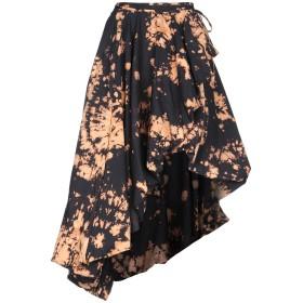 《期間限定セール開催中!》MARQUES' ALMEIDA レディース 7分丈スカート ブラック 10 コットン 100%