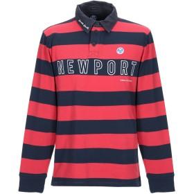 《期間限定セール開催中!》NORTH SAILS メンズ ポロシャツ レッド S コットン 100%