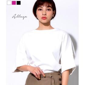 【セール開催中】ANAP(アナップ)袖切り替えデザインTシャツ