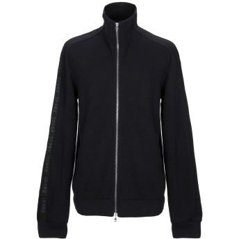 《9/20まで! 限定セール開催中》LOST & FOUND メンズ スウェットシャツ ブラック L コットン 100%