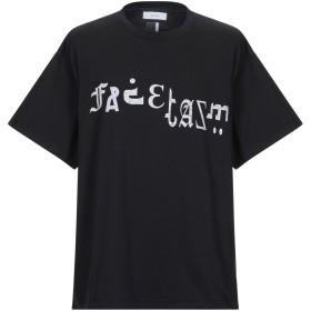 《期間限定 セール開催中》FACETASM メンズ T シャツ ブラック 00 コットン 100%