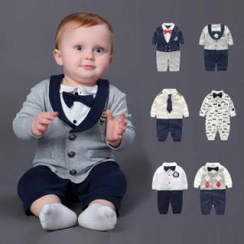 ベビー キッズ フォーマル スーツ 長袖 シャツ ジャケット 子供服 赤ちゃん 綿 春 男の子 洋服 紳士服 結婚式 入園式 出産祝い 6色