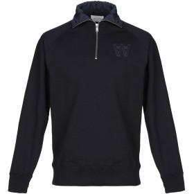 《セール開催中》WOOD WOOD メンズ スウェットシャツ ダークブルー S コットン 100%