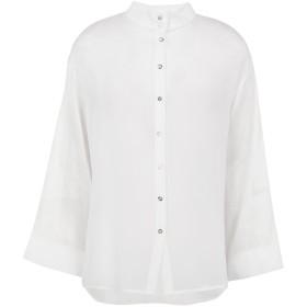 《期間限定セール開催中!》RAKHA レディース シャツ ホワイト S シルク 100%