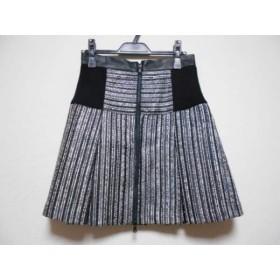 【中古】 ミリー MILLY スカート サイズ4 S レディース 美品 黒 白
