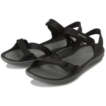 crocs クロックス swiftwater webbing sandal w 204804