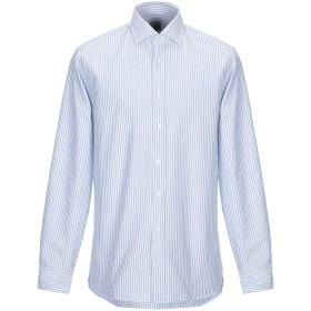 《送料無料》XACUS メンズ シャツ ホワイト S コットン 100%