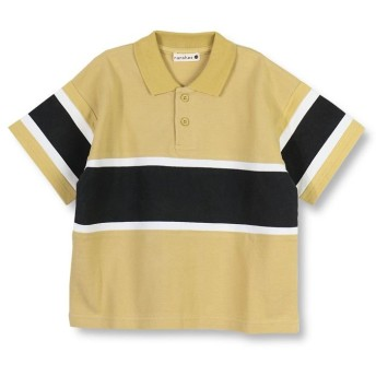 【50%OFF】 ブランシェス 切り替えデザインポロシャツ(90~150cm) レディース キャメル 110cm 【branshes】 【セール開催中】