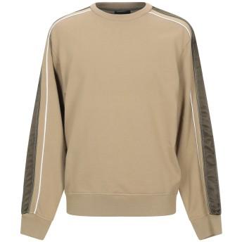 《9/20まで! 限定セール開催中》3.1 PHILLIP LIM メンズ スウェットシャツ カーキ M コットン 100% / レーヨン