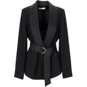 《9/20まで! 限定セール開催中》PAOLO CASALINI レディース テーラードジャケット ブラック 44 ポリエステル 100%