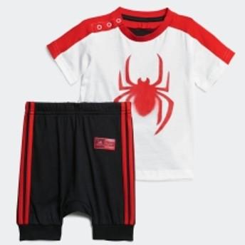 マーベル / スパイダーマン Tシャツ&ロークロッチパンツ 上下セット