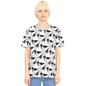 [マルイ]【セール】【ユニセックス】マルチパターンTシャツC/ラインアップオリガミパンダ/グラニフ(graniph)