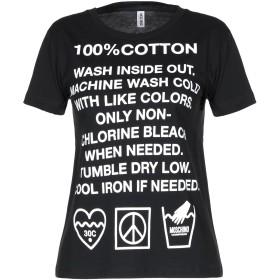 《セール開催中》MOSCHINO レディース アンダーTシャツ ブラック XS コットン 100%