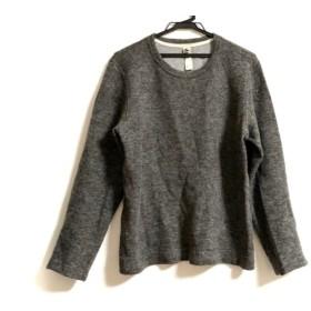 【中古】 マーガレットハウエル MHL. 長袖セーター サイズM メンズ ダークグレー